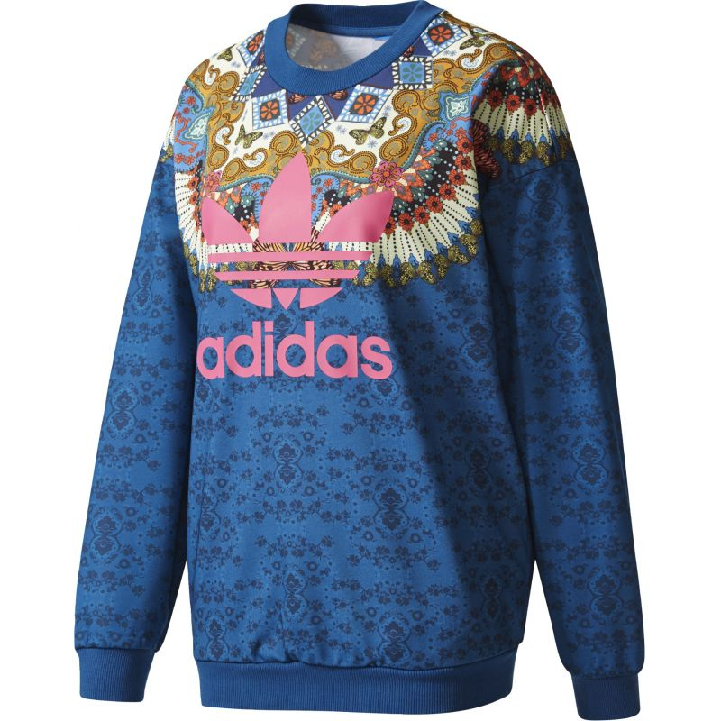 Adidas borbomix - modrá - 38