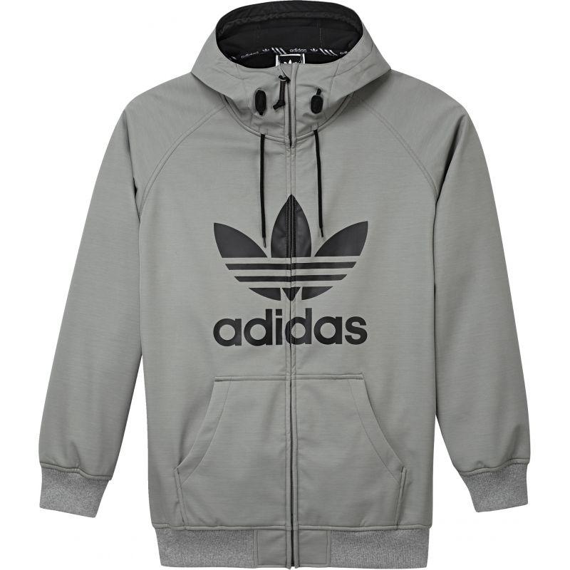 Adidas greeley - šedá - L
