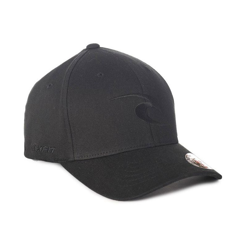 KSILTOVKA RIP CURL TEPAN CURVE PEAK CAP - černá (90) - univerzální