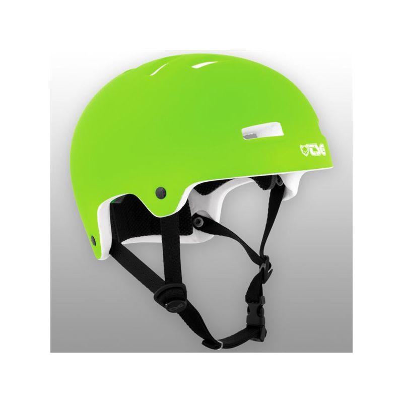 TSG Nipper Maxi Solid Color Flat HELMA - elektrická zelená - XXS/XS