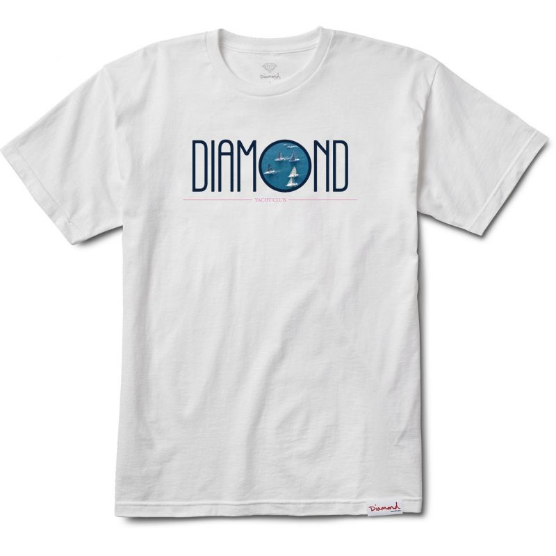 Diamond deco - bílá - XL