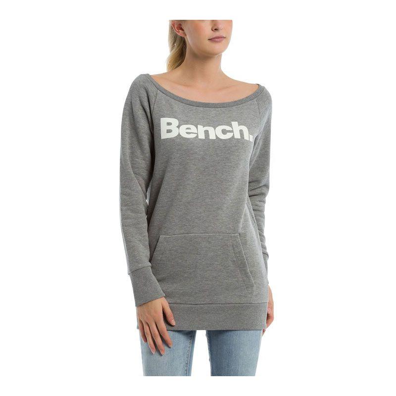 Bench crewneck - šedá - M