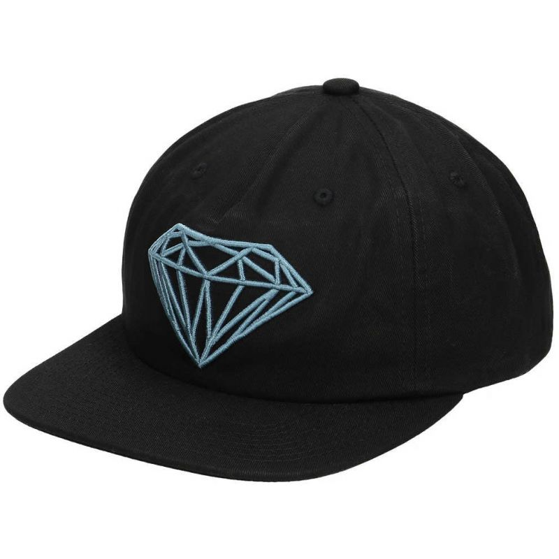 KŠILTOVKA DIAMOND BRILLIANT UNCONSTRUCTE - černá