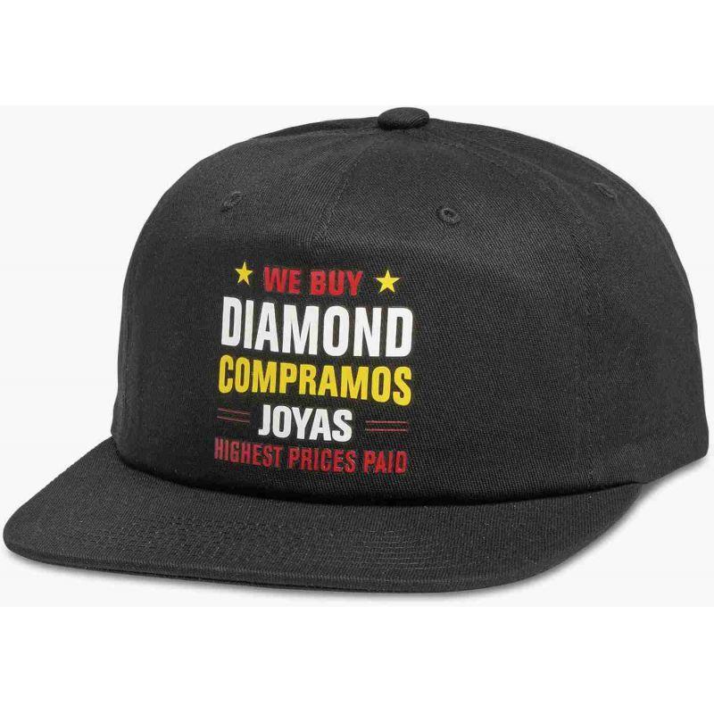 KŠILTOVKA DIAMOND JEWLERS ROW - černá