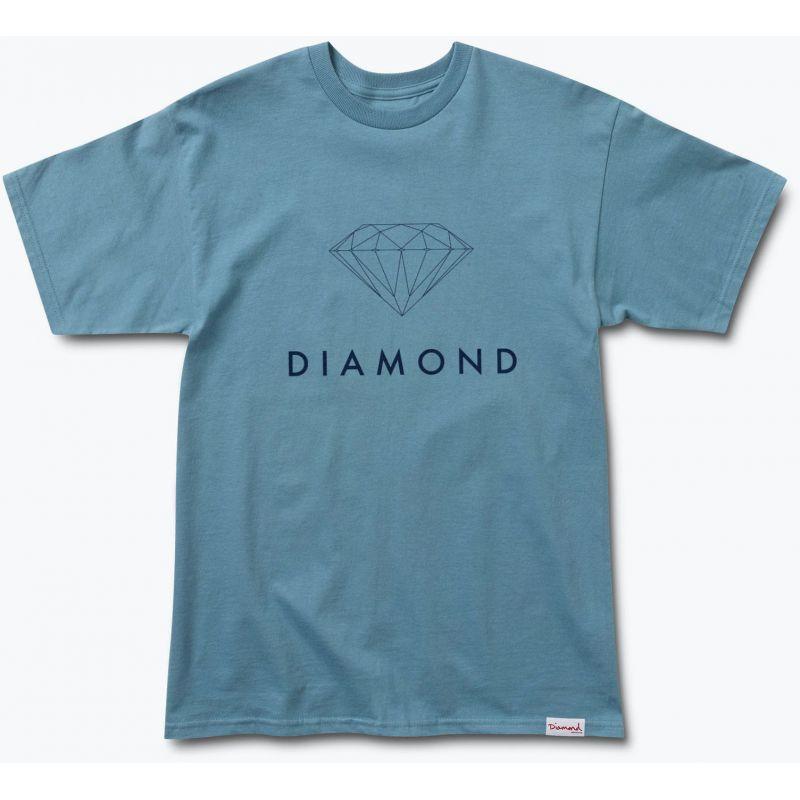 TRIKO DIAMOND FUTURA SIGN - modrá - L