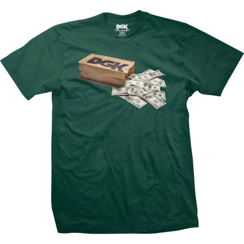DGK money bag - zelená - M