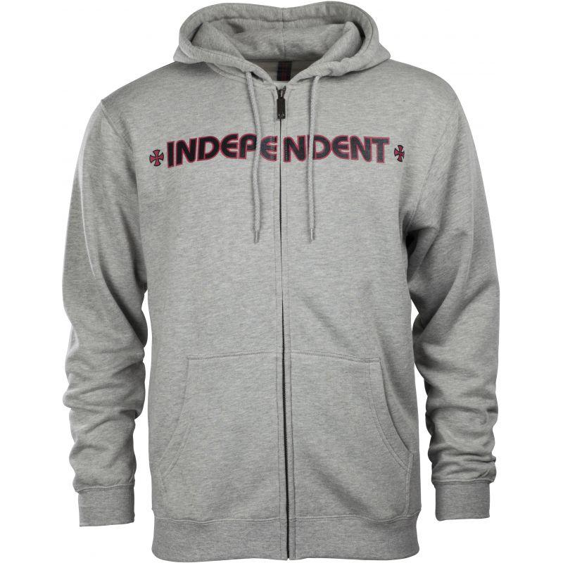 Independent bar - šedá - L