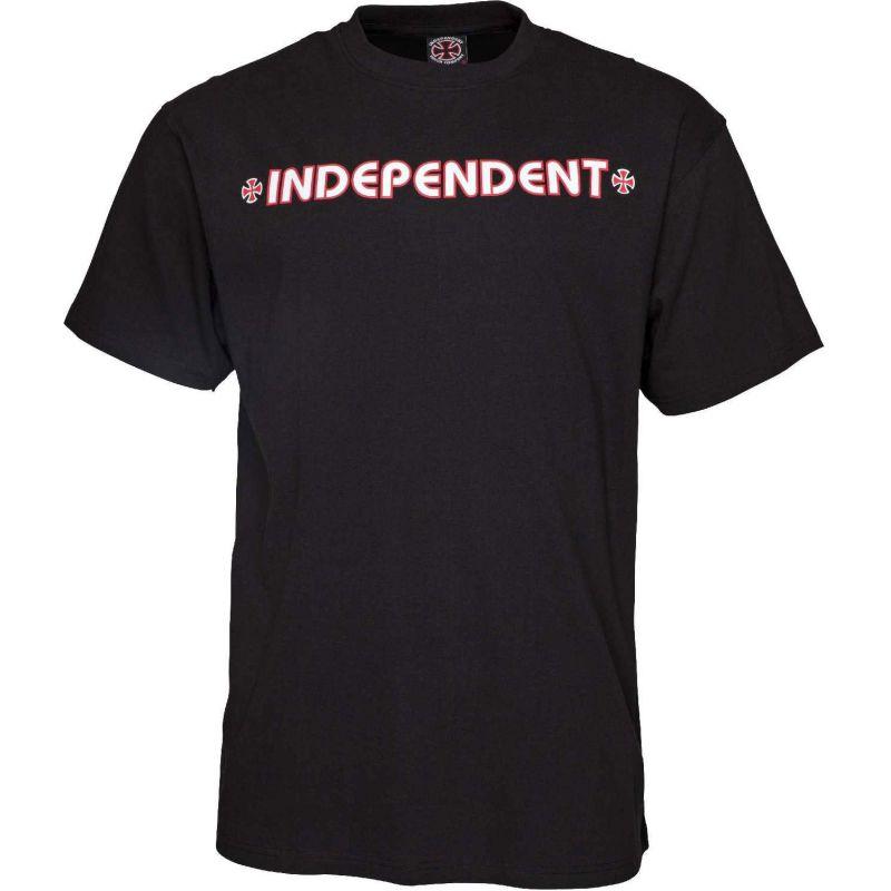 Independent bar cross - černá - L