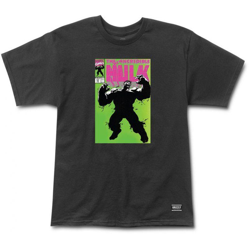 Grizzly grizzly x hulk cover - černá - M