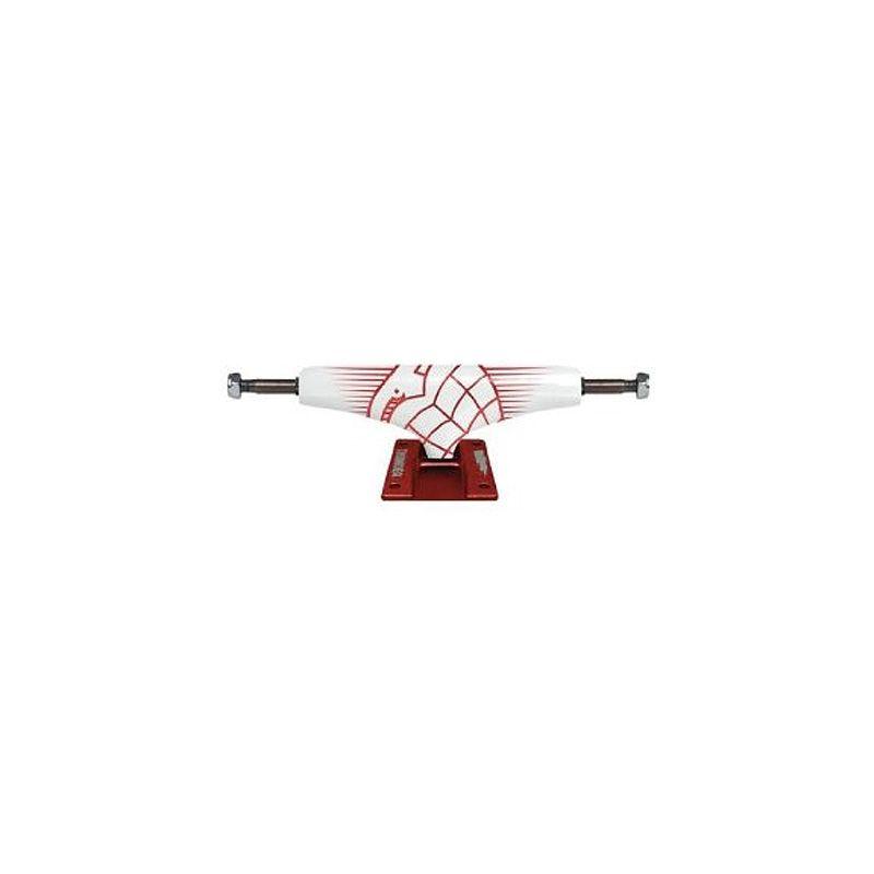 THUNDER PÁR SK8 TRUCKY - bordó (WHT-RED) - 127mm