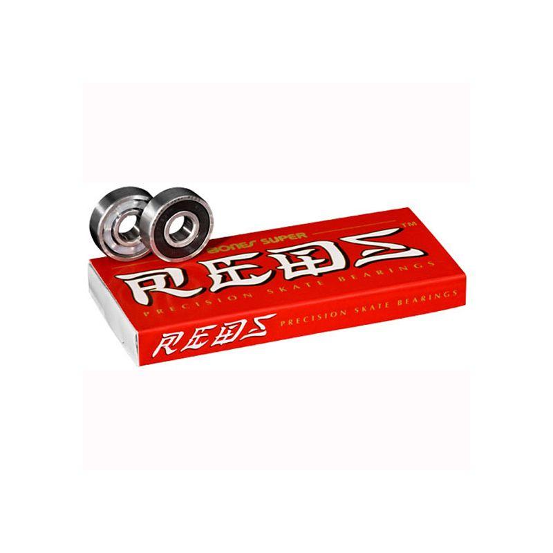 BONES SUPER REDS SK8 LOZISKA - červená - univerzální