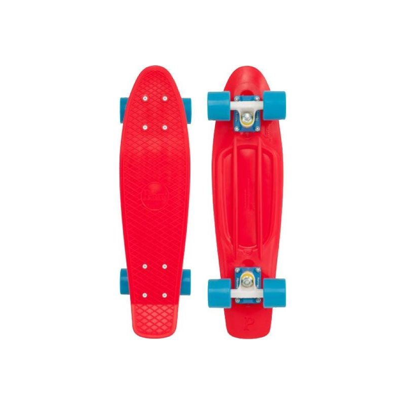 PENNY SKATEBOARD CLASSIC - červená (RED-BLU) - 22/56cm