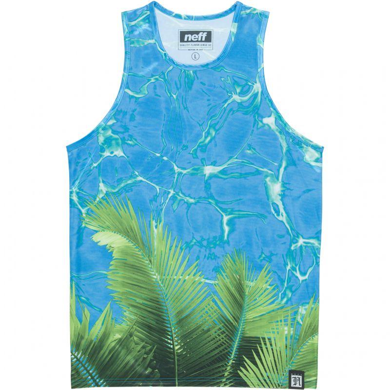 Neff palm water - azurová - L
