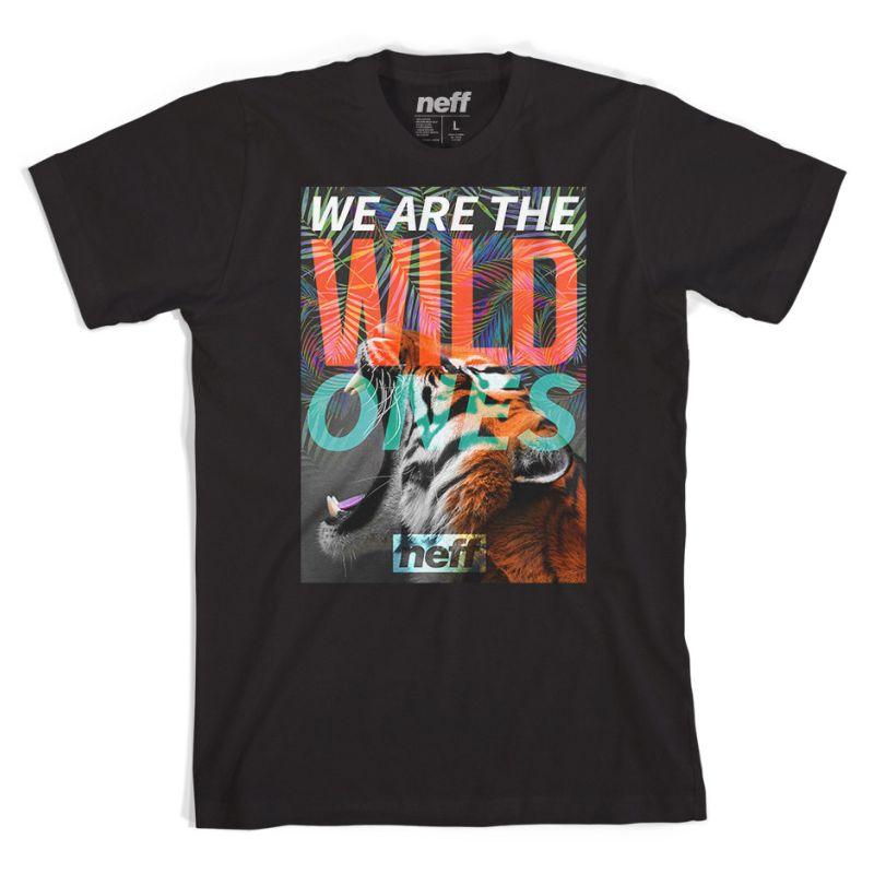 Neff wild ones - černá - L