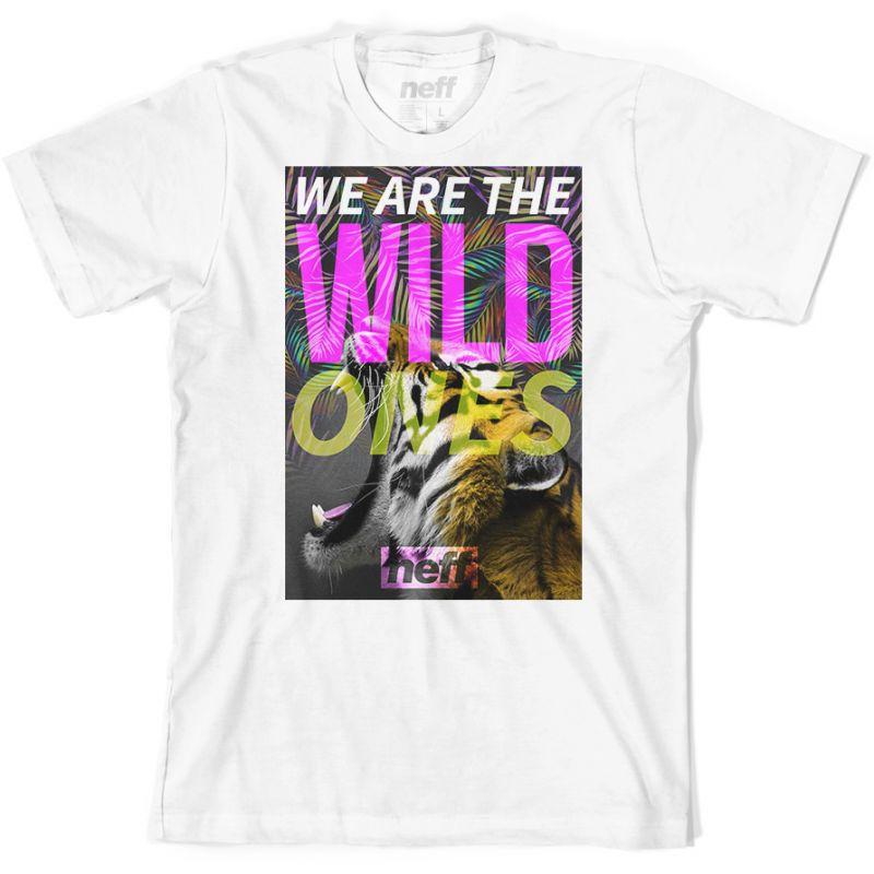 Neff wild ones - bílá - L