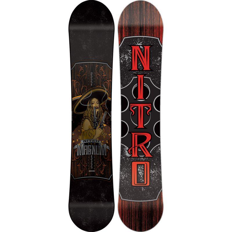 SNOWBOARD NITRO 16 MAGNUM - černá - 161