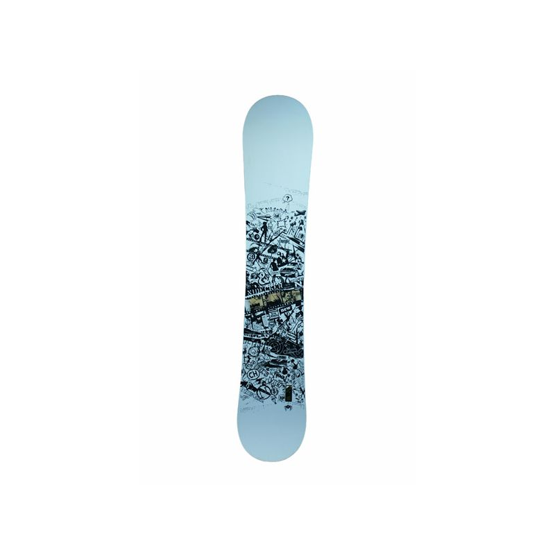 NIDECKER VIBES SNOWBOARD - bílá - 160