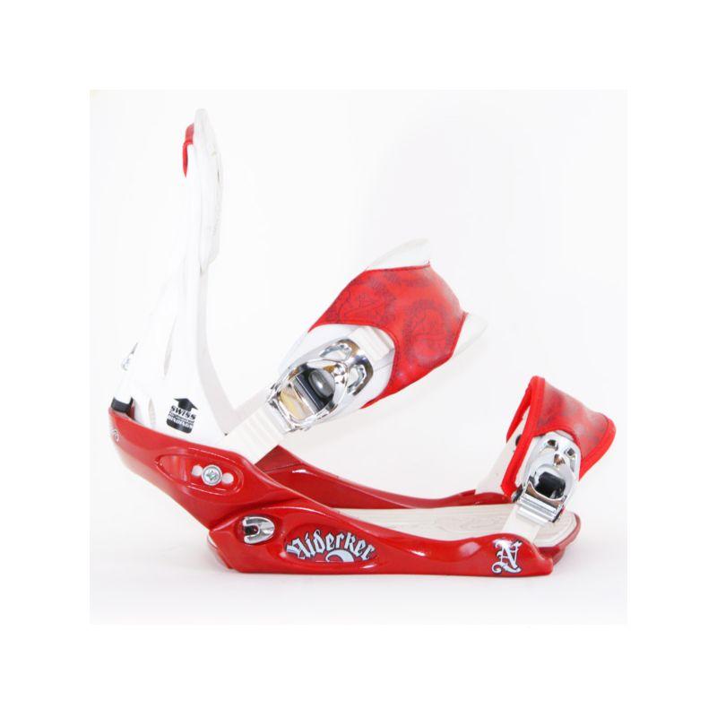 NIDECKER CAMPUS SNOWBOARD VAZANI - červená (RED-WHT) - M/L