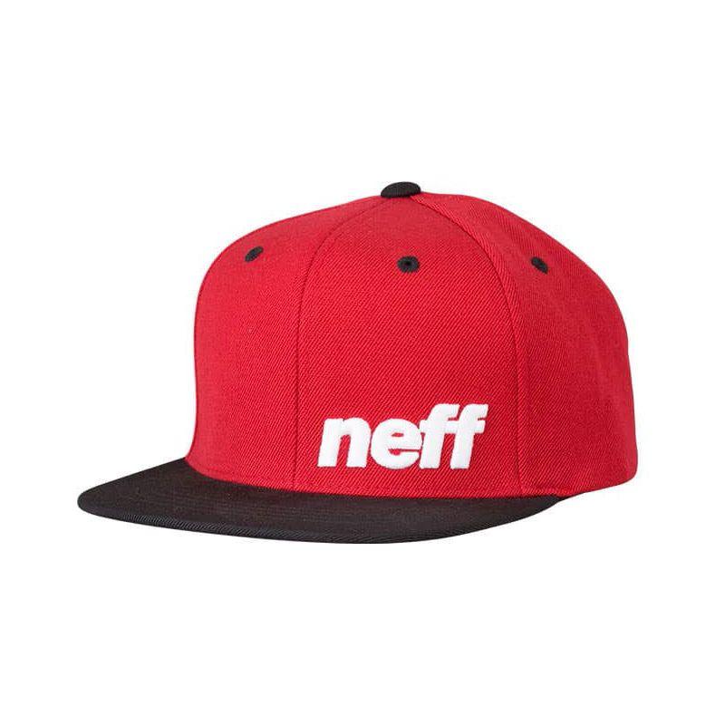 KŠILTOVKA NEFF DAILY CAP - červená (BLK-RED-WH) - univerzální