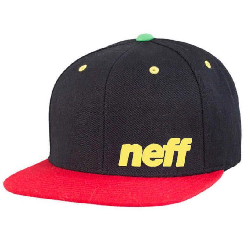 KŠILTOVKA NEFF DAILY CAP - černá (RAS) - univerzální