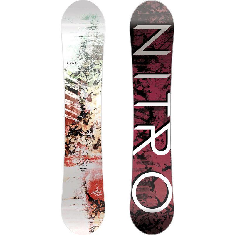 SNOWBOARD NITRO 17 LECTRA WMS - bílá - 146