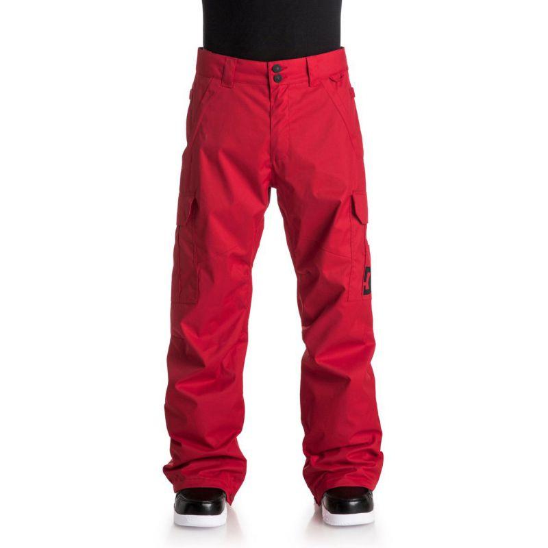 KALHOTY DC SNB BANSHEE PNT - červená (RQR0) - L