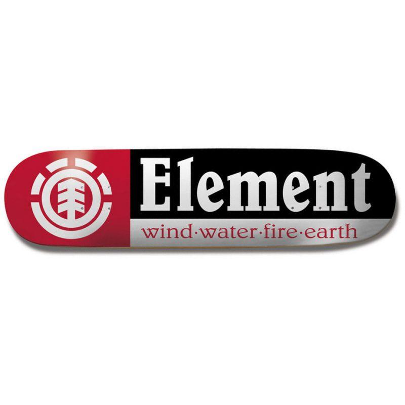 SK8 DESKA ELEMENT SECTION NO.9 - černá (BLK) - 7.75