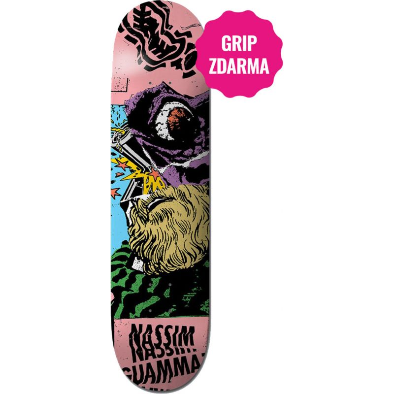 SK8 DESKA ELEMENT BERGY NASSIM - 8.25