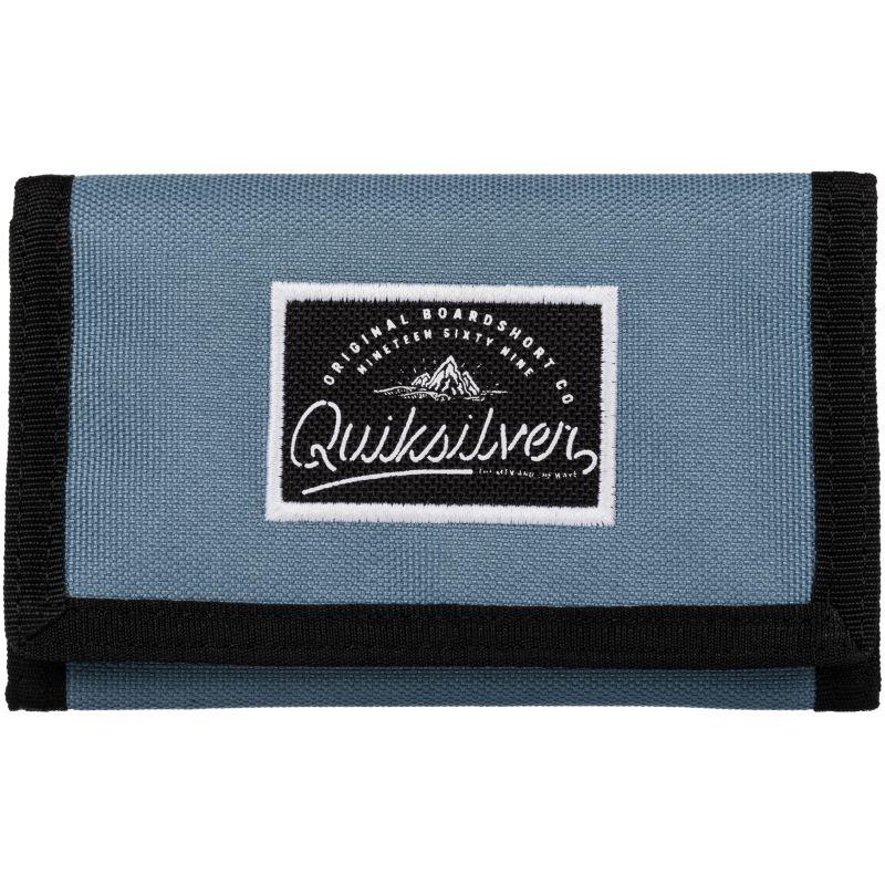 PENĚZENKA QUIKSILVER SIDEWALK - džínová modř (BKT0) - L