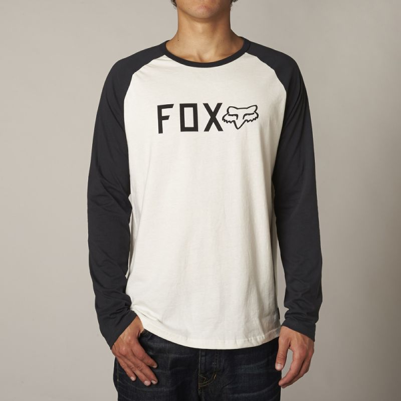 Fox shockbolted - bílá - XL