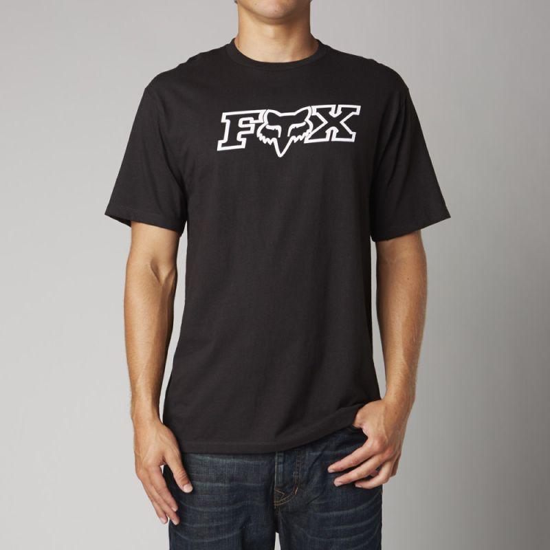 TRIKO FOX LEGACY FHEADX SS - černá (BLK) - S