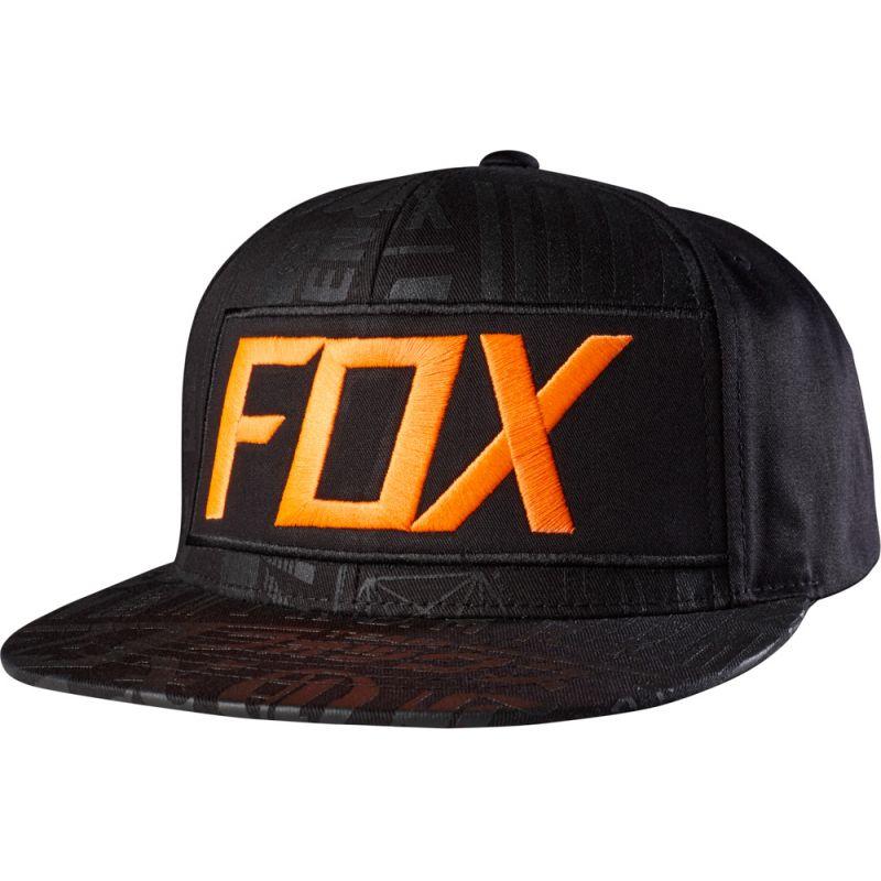 KŠILTOVKA FOX UNION - černá (BLK) - univerzální