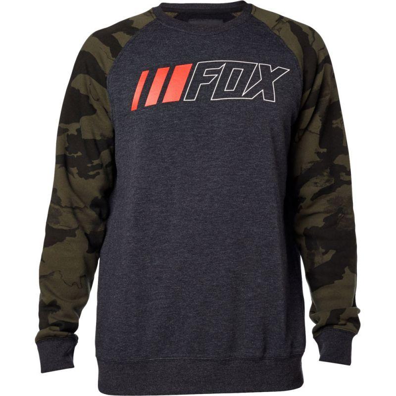 Fox crewz - šedá - XL