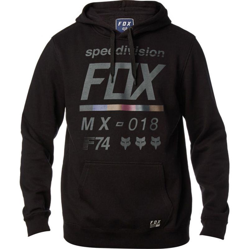 Fox district 2 pullover fleece - černá - L