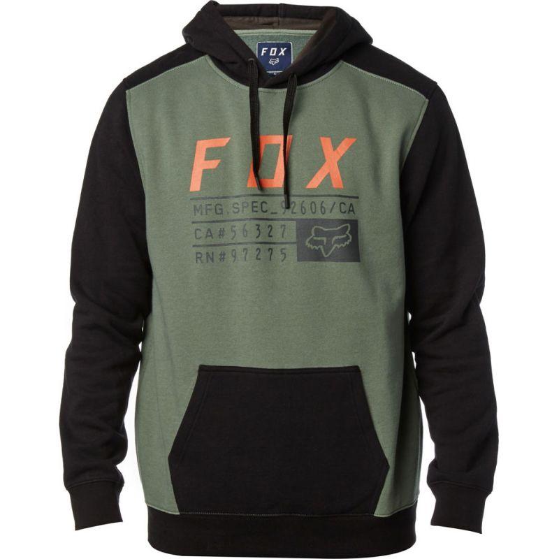 Fox district - zelená - M