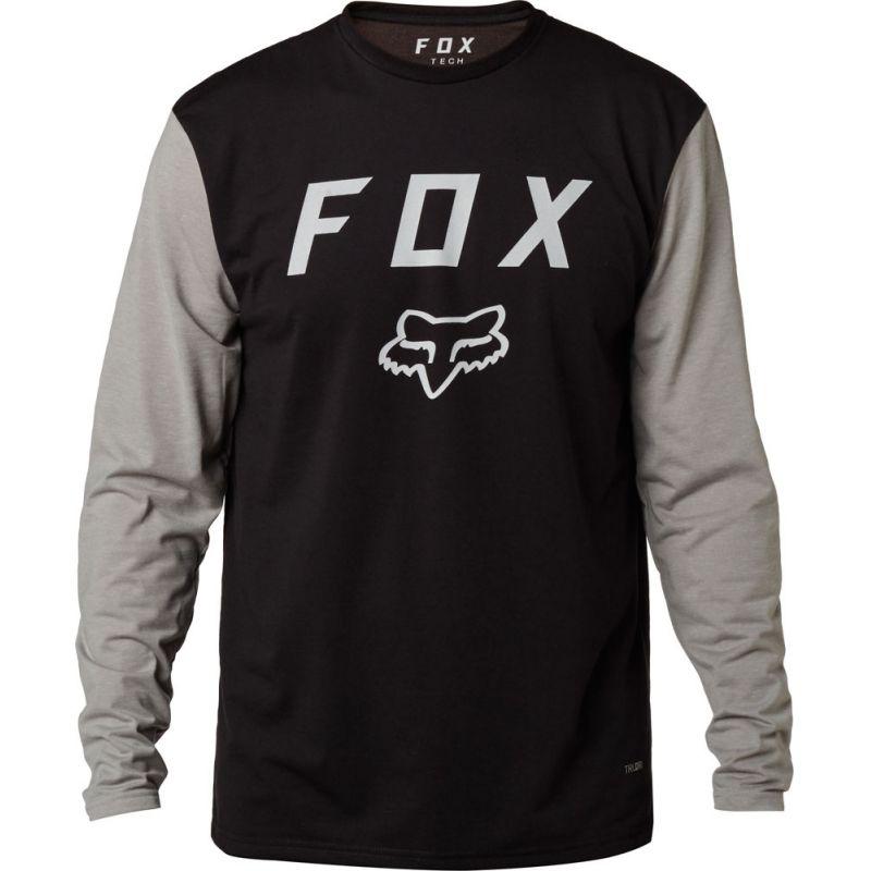 Fox contended - černá - S
