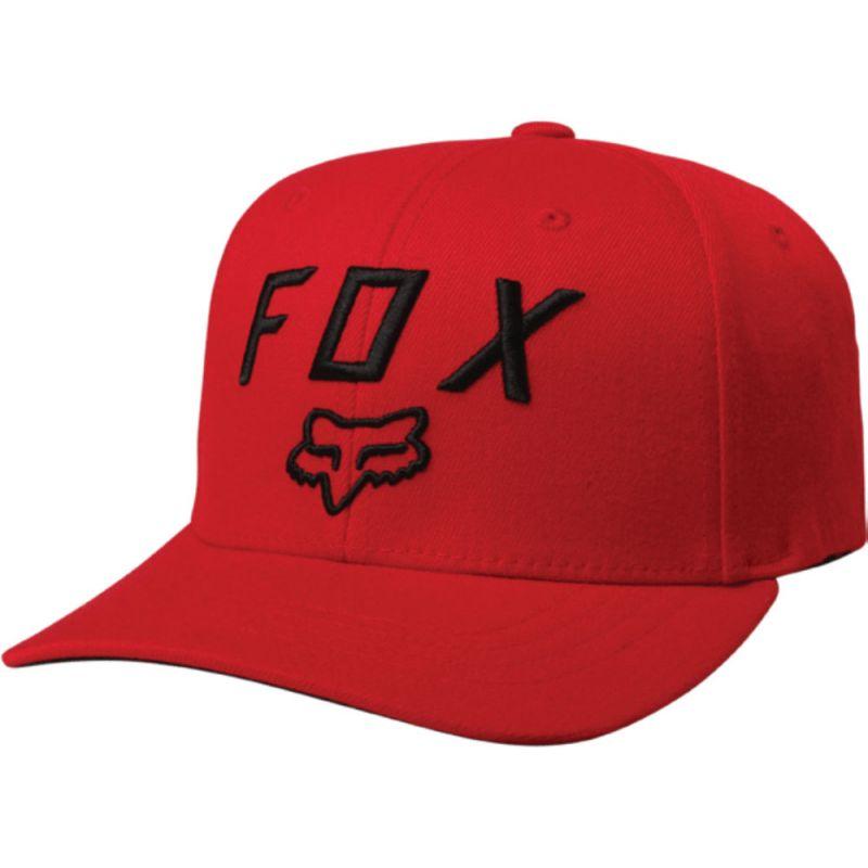 KŠILTOVKA FOX Legacy Moth 110 Snapback - červená