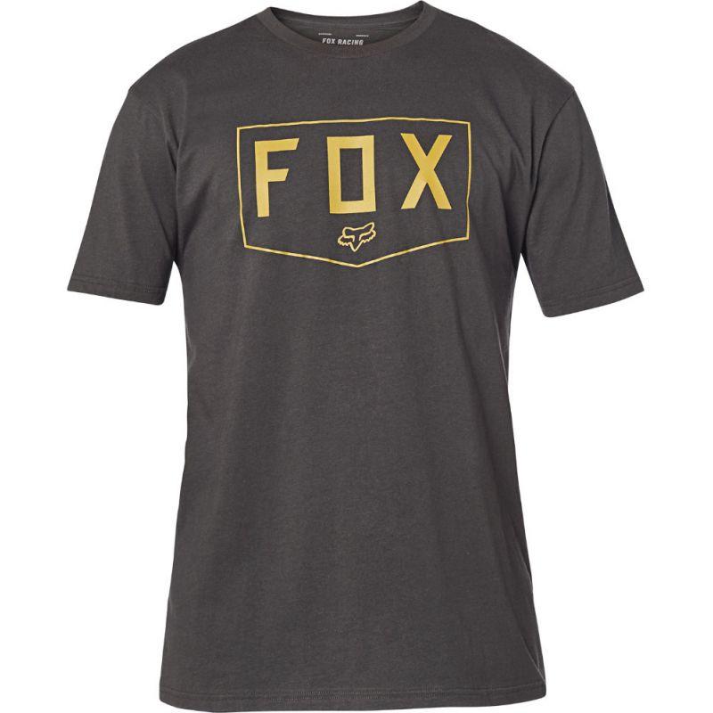 TRIKO FOX Shield Premium S/S - černá - L