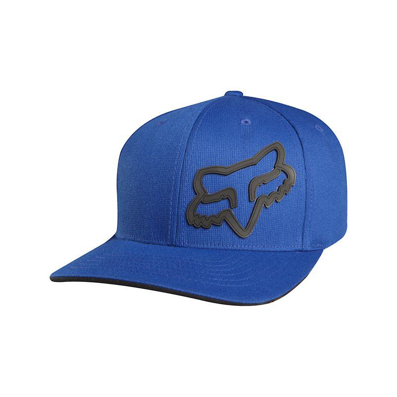 Fox signature - modrá - L/XL