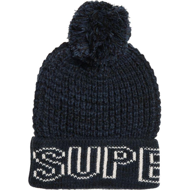 Superdry waffle - černá