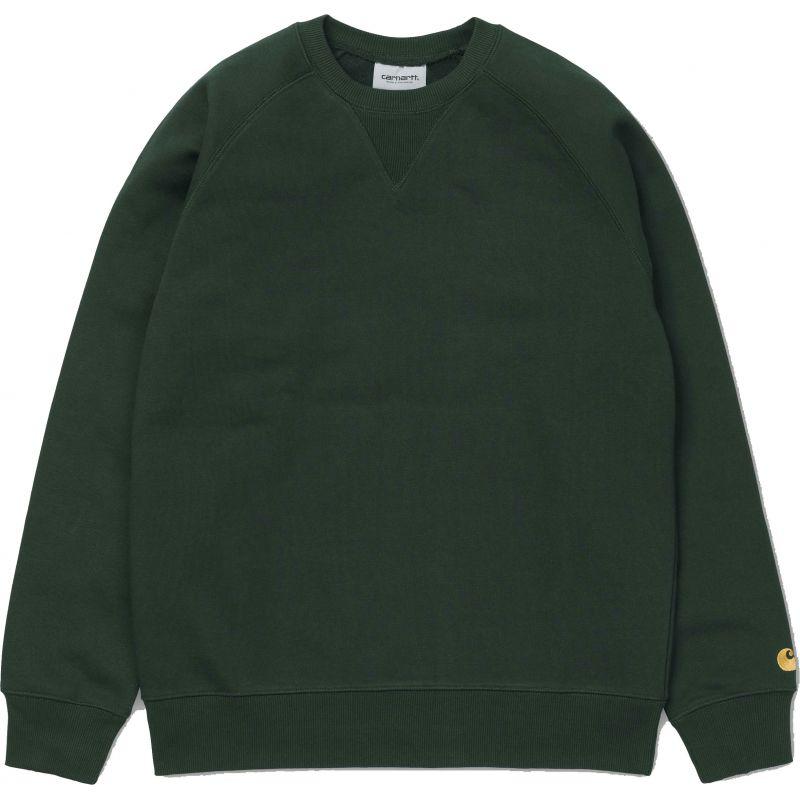 Carhartt chase - zelená - L