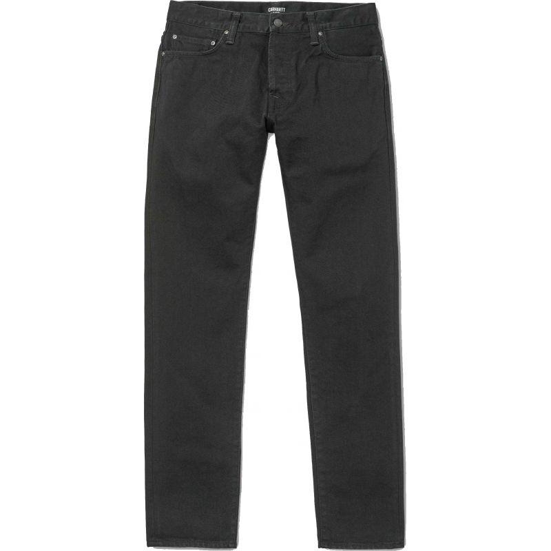 KALHOTY CARHARTT Klondike 5-Pocket Denim - černá - 32/32