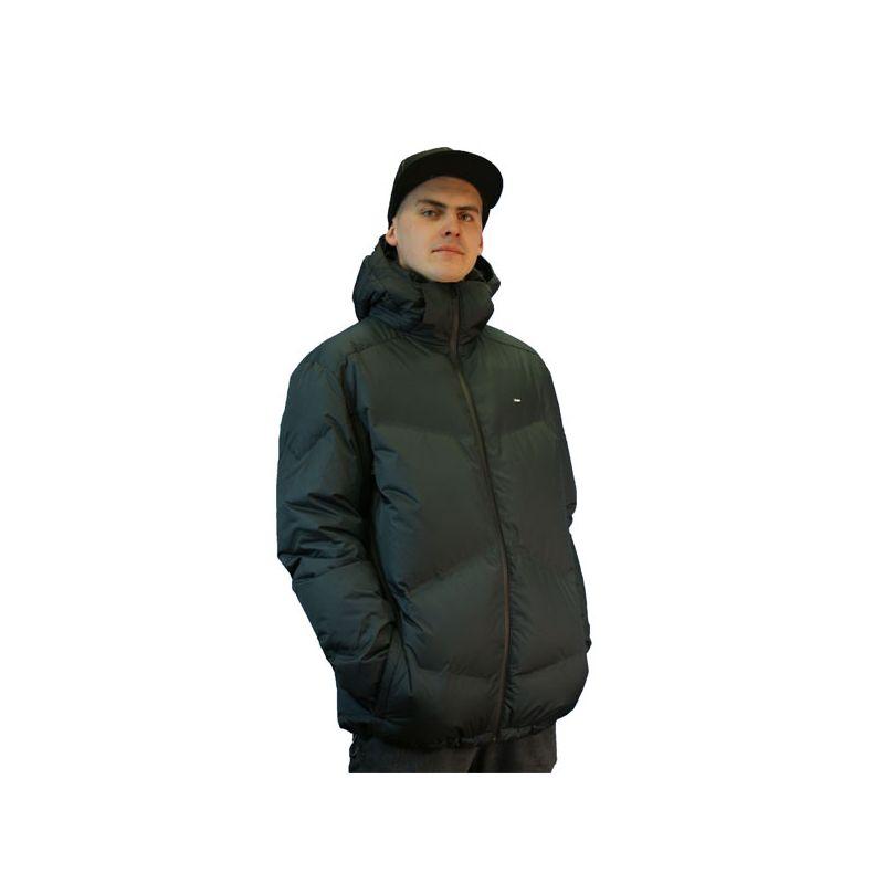 RUSTY GIANT SNOWBOARD BUNDA - černá (BLK) - XL