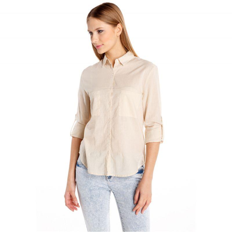 Moodo moodo košile - krémová - XS