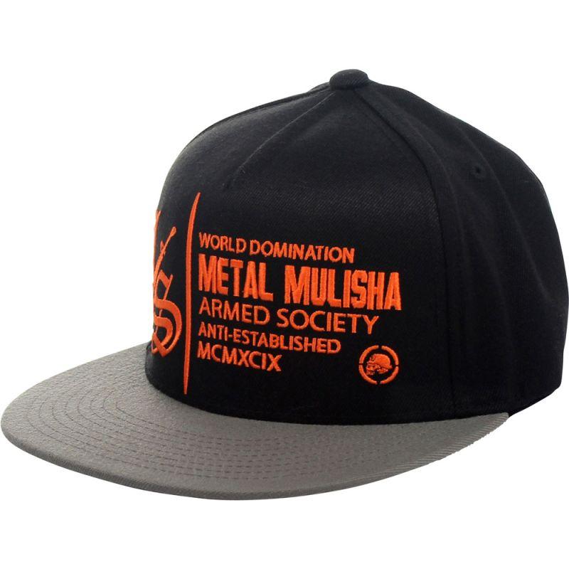 METAL MULISHA IMPACT KŠILTOVKA - černá (BLO) - S/M