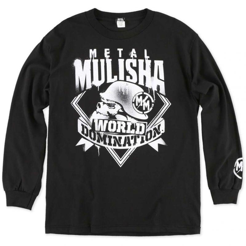 Metal Mulisha mist - černá - L