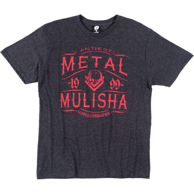Metal Mulisha scotch heather - antracitová - S