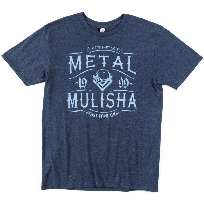 Metal Mulisha scotch heather - modrá - S