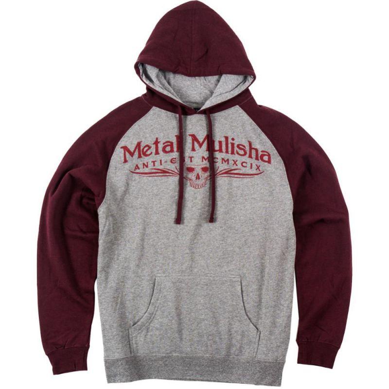 Metal Mulisha classic po - šedá - M