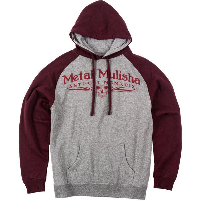 Metal Mulisha classic - šedá - M